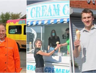 """Eindelijk beter weer! Deze ijsjesverkopers brengen 'zoete zondes' in uw buurt: """"Vooral klaproos en blauwijs vallen dit jaar in de smaak"""""""
