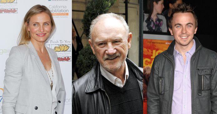 Cameron Diaz, Gene Hackman en Frankie Muniz keerden Hollywood de rug toe