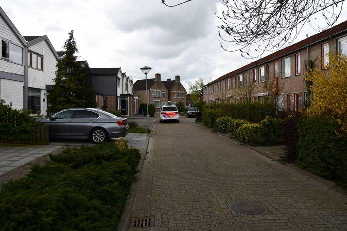 Onderzoek in de Johannes Vermeerweg in Axel.