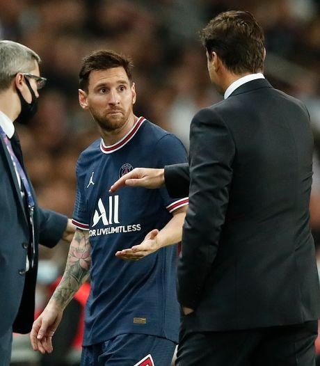 Gefrustreerde Messi weigert hand Pochettino bij wissel: 'Er zijn geen problemen'