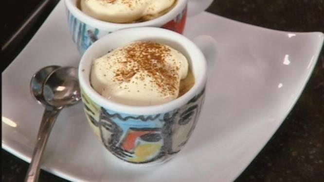 Parfait van espresso maken