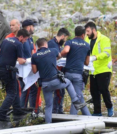 LIVE: 'Er zijn mensen gered die 45 meter  gevallen zijn'