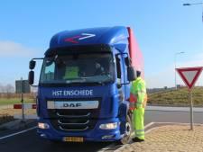 'Grenscontrole' Achterhoek-Twente rond afgesloten N315