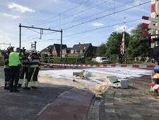 Trein botst tegen vrachtwagen in Boxtel, treinverkeer stilgelegd