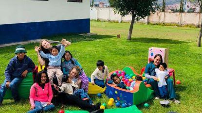 Maya (22) uit Opwijk helpt kinderen met een beperking in Peru