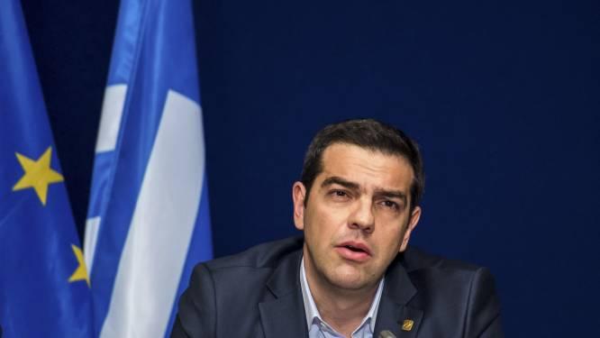"""Tsipras: """"Griekenland laat zich niet chanteren"""""""