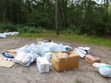 Tientallen zakken vol hennepafval gedumpt in Helvoirt