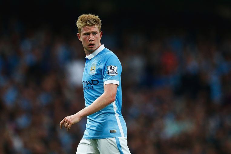 Miljoenenaankoop Kevin de Bruyne scoorde één keer, maar kon de nederlaag van Manchester City niet voorkomen. Beeld getty