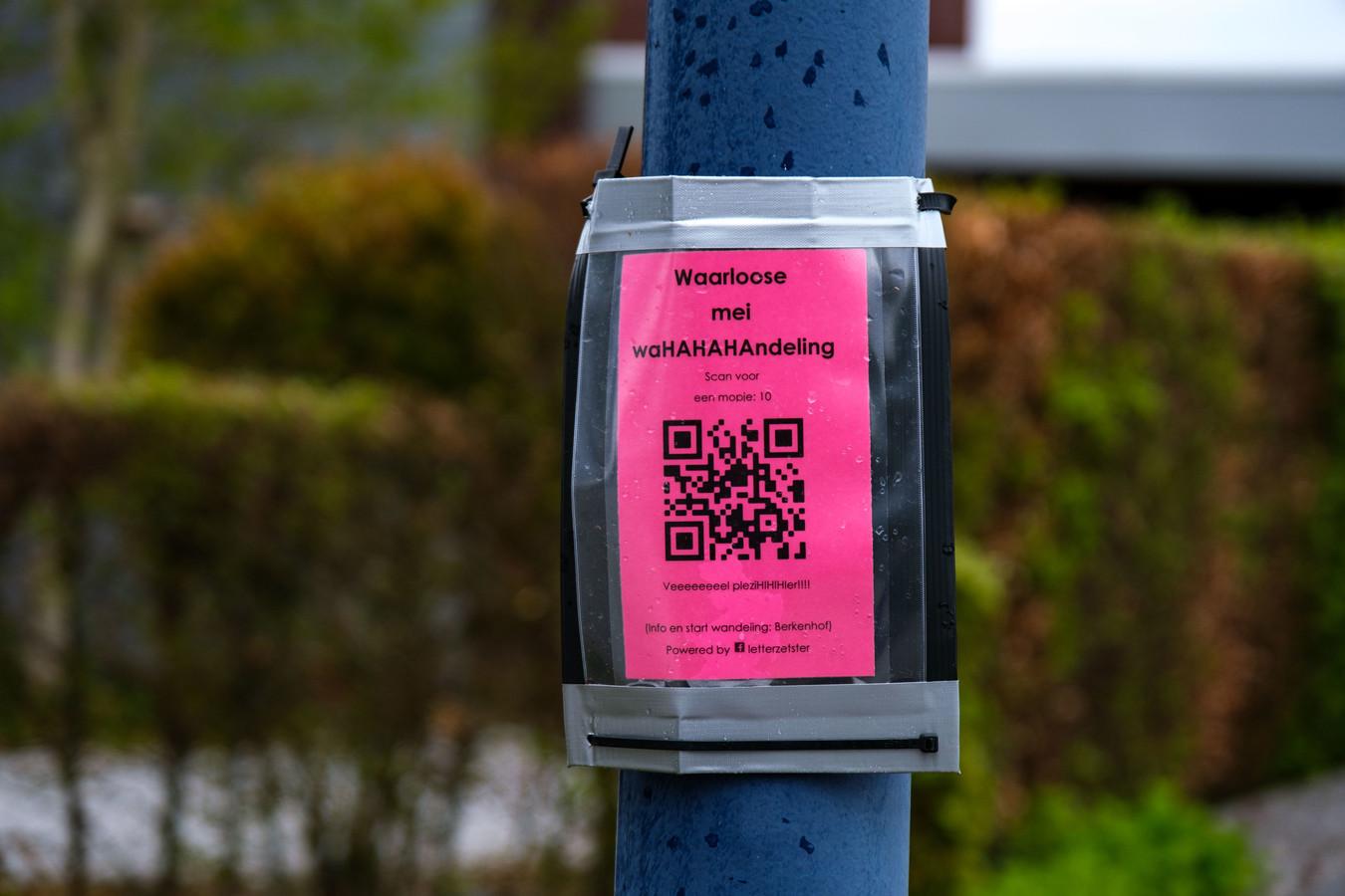 Hilde Van Bulck heeft een moppenwandeling met QR-codes uitgewerkt.