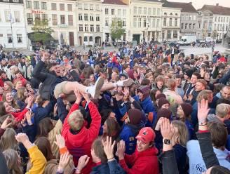 Meer dan duizend jongeren feesten op Dag van de Jeugdbeweging in Oudenaarde