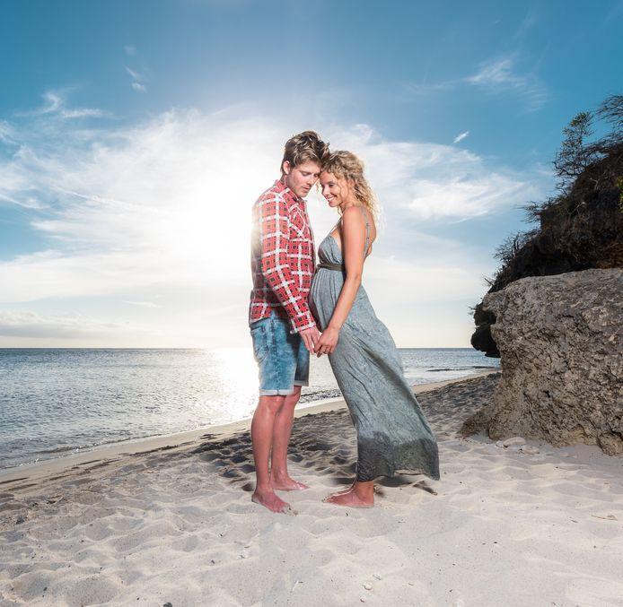 Tim en zijn vriendin Elske
