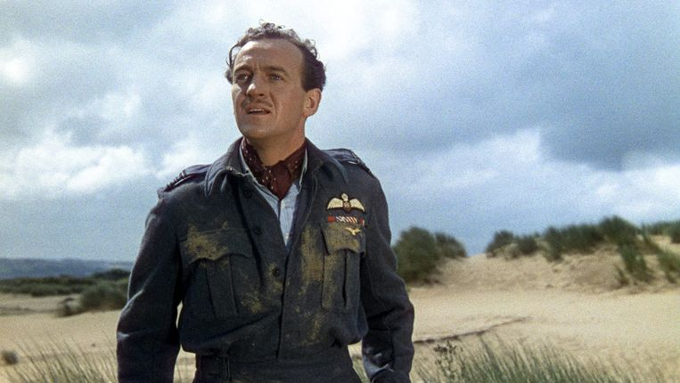 David Niven in A Matter of Life and Death. Beeld