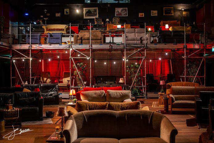 De speciale 'coronasetting' van Theater De Kattendans in Bergeijk
