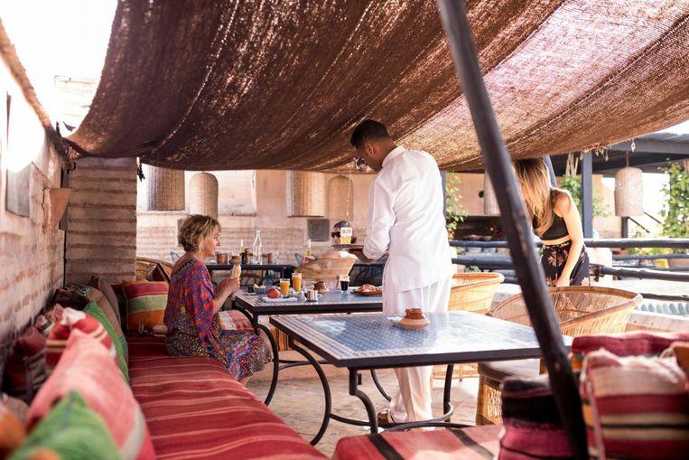 Hotel Riad El Fenn. Beeld Dim Balsem