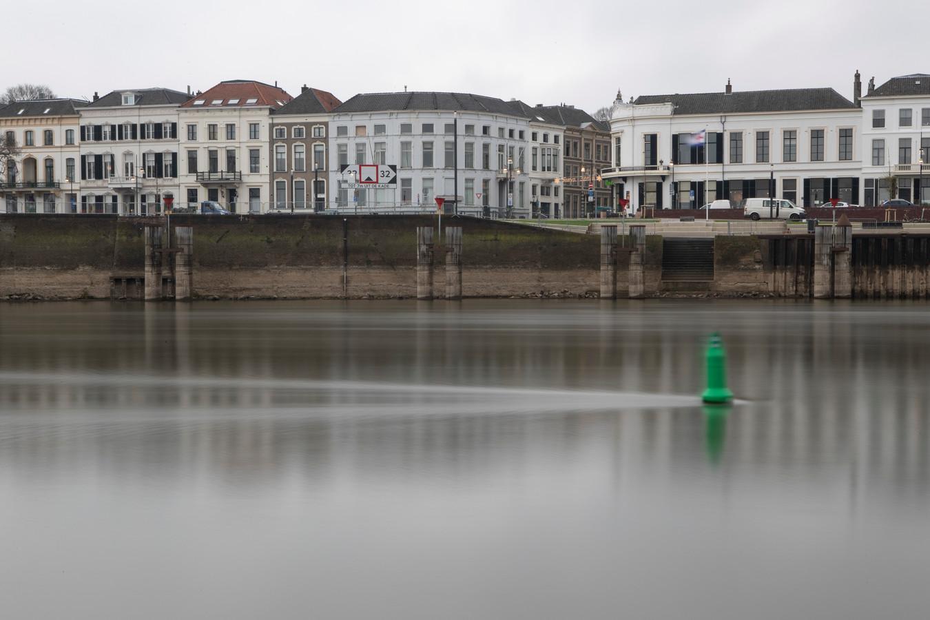 Rivier de IJssel bij Zutphen.