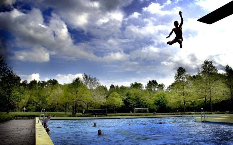 Het Weidebad. Archieffoto uit 2003 foto Jeroen van Eijndhoven/PVE