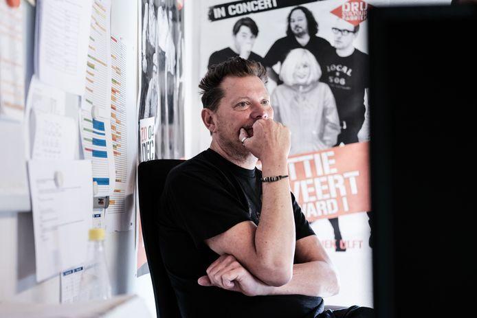 Programmeur Erik Ramaker van de DRU.