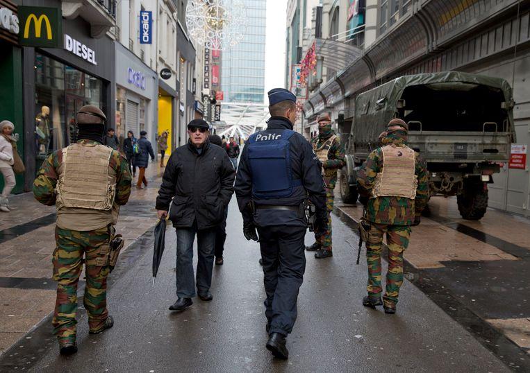 De Nieuwstraat in Brussel.