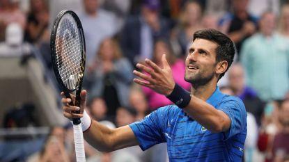 Djokovic ondanks schouderblessure vlotjes naar derde ronde - Serena heeft handen vol met landgenote