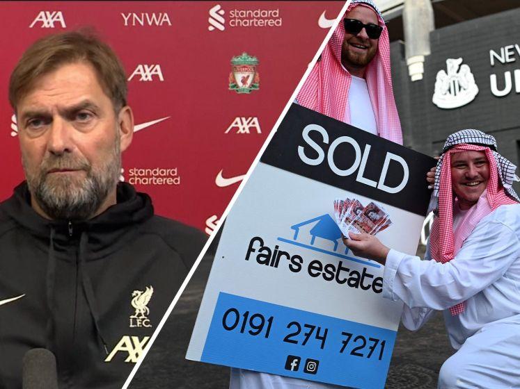 Klopp over Newcastle: 'Met geld koop je niet alles'