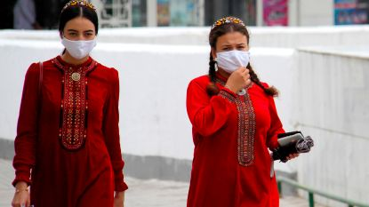 """Turkmenistan beveelt mondmaskers aan tegen """"stof"""""""