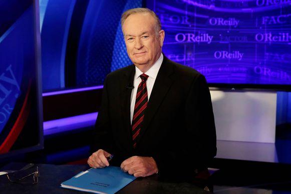 Bill O'Reilly (67) is sinds jaar en dag een kijkcijferkanon met zijn talkshow op Fox News.