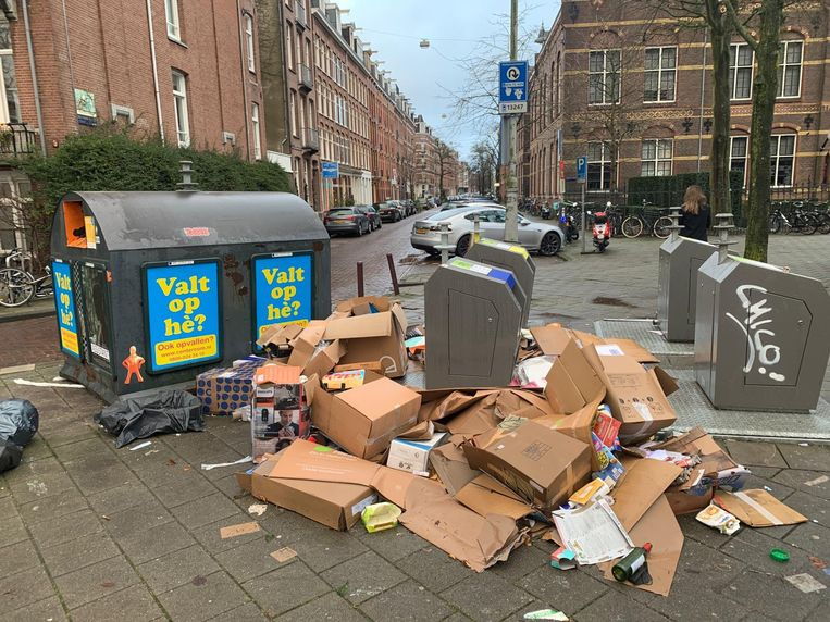 Het Roelof Hartplein. Beeld Het Parool