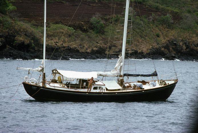 L'Askoy II, le voilier de Jacques Brel