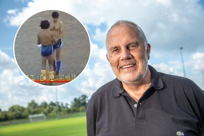 Jan Verheijen kreeg na een wedstrijd het shirt van Maradona, maar raakte het kwijt.