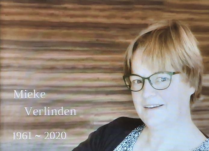 Slachtoffer Mieke Verlinden.