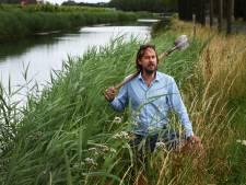Kunstenaar Erik van Loon: 'De Linge moet weer door de Betuwe kronkelen'