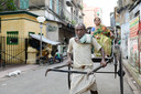 Voorbeeld van het kastensysteem in India.