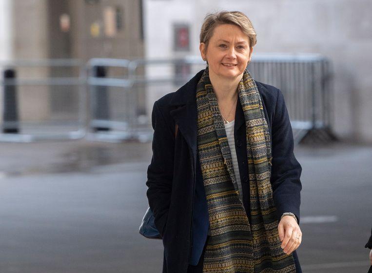 Het Britse parlement verwacht vandaag te stemmen over een motie van Yvette Cooper.  Beeld EPA