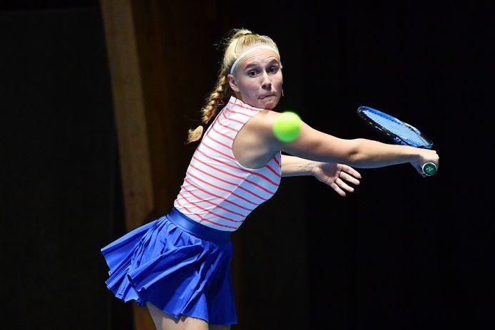 Morgane van den Bergh won de Antwerpse Masters bij de vrouwen 2 en speelt zaterdag de kwartfinale op de nationale eindronde in Bree.