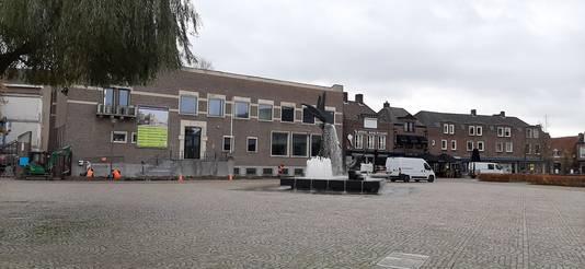 De Markt van Schijndel wacht mogelijk een grote overkapping in de wintermaanden.