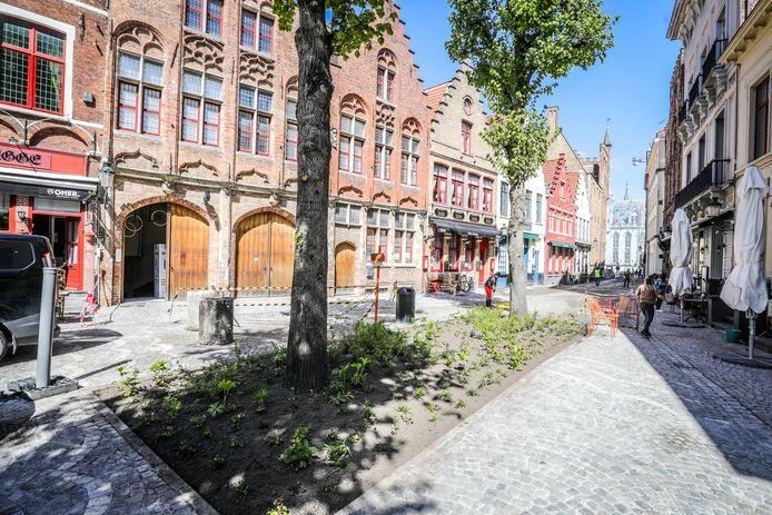 De Sint Amandsstraat is zo goed als afgewerkt.