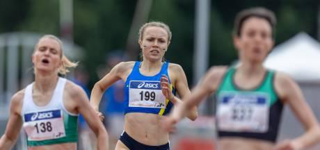 Vughtse atlete Emmy van den Berg: 'Finale het doel bij mijn debuut in het oranje'
