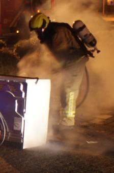 Wasdroger vliegt 's nachts in brand in Terneuzen