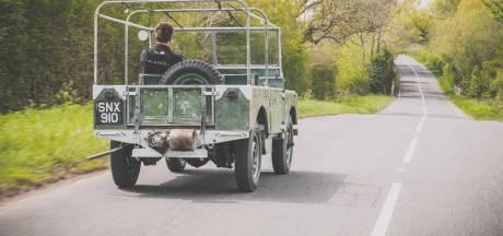 Verloren gewaande show-Land Rover na 50 jaar weer in glorie hersteld