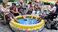 Hawaïaanse voetbadjes en ijsjes geven verkoeling aan bewoners woonzorgcentrum