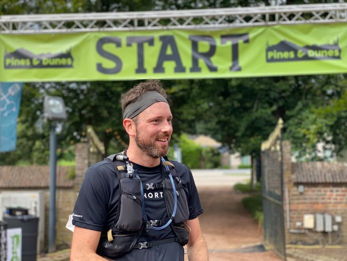 Niels Rouvrois liep de 50 kilometer op minder dan zes uur.