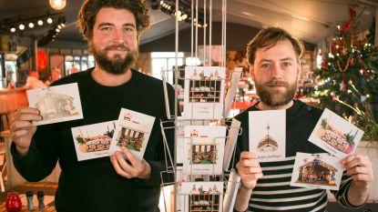 Kringwinkel verdeelt gratis originele kerstkaartjes