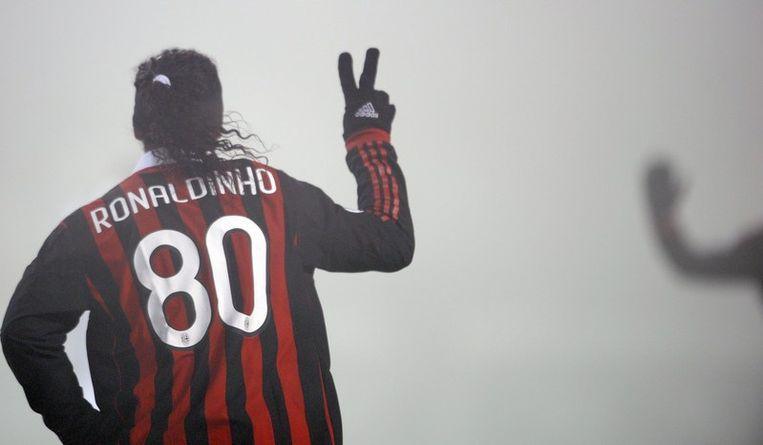 Ronaldinho sloeg twee keer toe. Beeld UNKNOWN