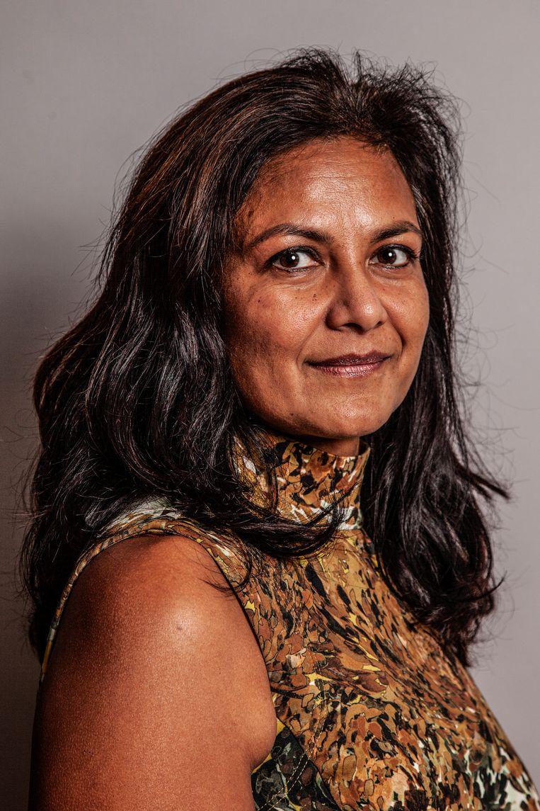 Sita Remesar: 'Leerlingen kiezen een beeld dat vertrouwd is.' Beeld Ernst Coppejans
