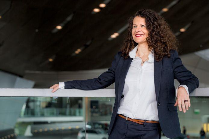 Stefanie Wurst, de Algemeen Directeur van BMW Nederland