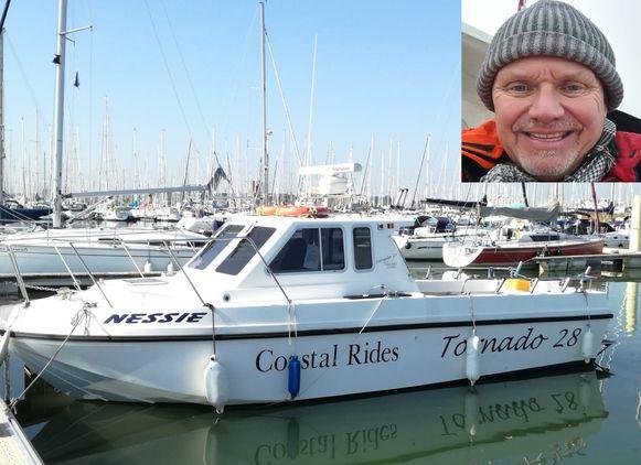 Marc valt onder de commerciële pleziervaart, omdat hij geregeld tegen betaling hengelaars meeneemt op zee. Dat doet hij vanuit de Nieuwpoortse haven met zijn bootje Nessie.