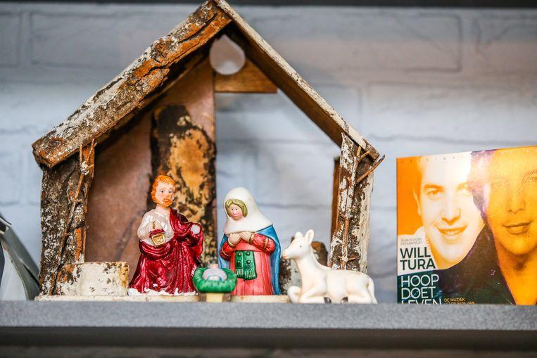 De kerststal van Will Tura.