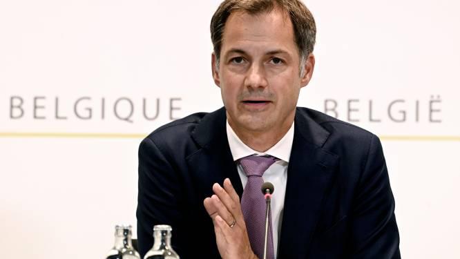 """De Croo geeft nog geen einddatum voor Belgische operatie in Afghanistan: """"We volgen het van uur tot uur"""""""