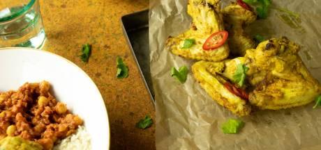 Wat Eten We Vandaag: Pittig gekruide kippenvleugeltjes