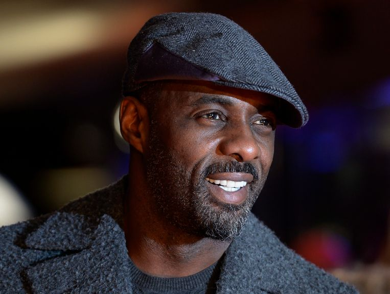 Idris Elba, bekend van series als 'Luther' en 'The Wire', en films als 'Thor' en 'Mandela: Long Walk to Freedom'. Beeld EPA